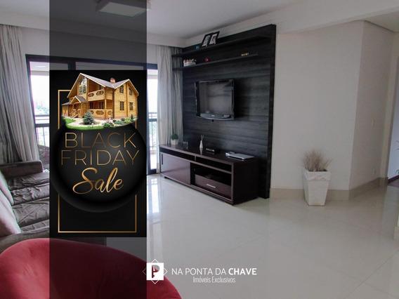 Apartamento Com 3 Dormitórios À Venda, 138 M² Por R$ 813.000,00 - Parque Anchieta - São Bernardo Do Campo/sp - Ap0011