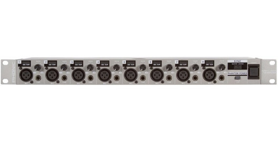 Pré Amplificador Microf Phonic Ada 8 Firefly 8000 Loja Full