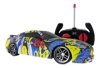 Auto Carrera 1:20 4 Canales Radio Control Diseño Hip-hop