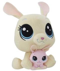 Pelucia Littlest Pet Shop Mamae E Filho