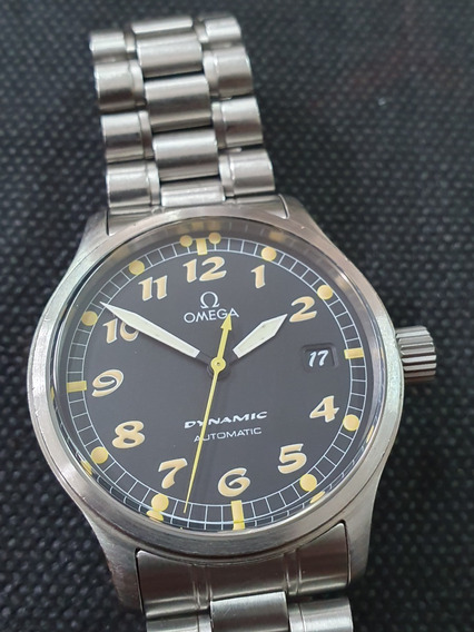 Relógio Omega Dynamic Automático 37mm Revisado Espetacular