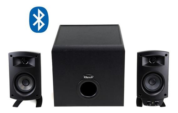 Promedia 2.1 Bluetooth Caixas Para Pc Com Subwoofer