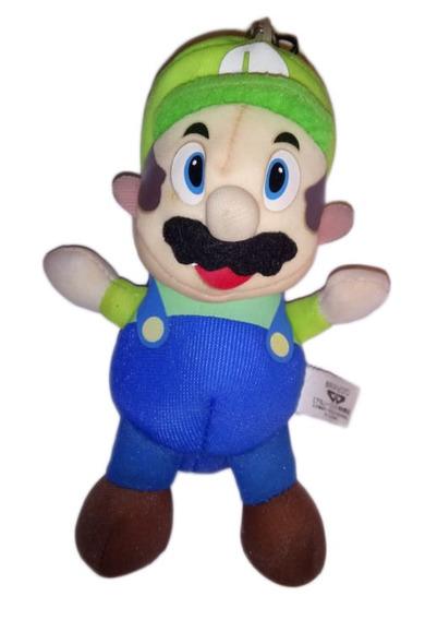 Pelucia Luigi Super Mario Bros Banpresto Original 17 Cm