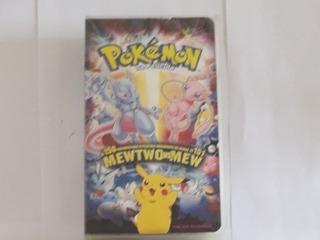 Peliculas Pokemon Vhs Valor Cada Uno.(leer Descripcion)