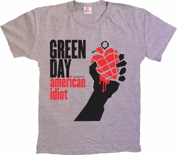 Camisetas Bandas Punk Rock - Green Day - 100% Algodão!!