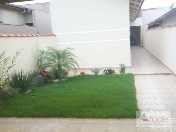 Casa Com 2 Dormitórios À Venda, 70 M² - Jardim São Jorge - Nova Odessa/sp - Ca6621