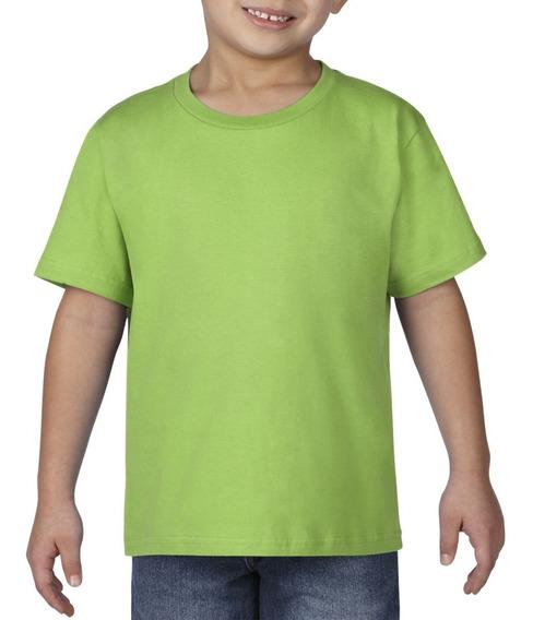 Camiseta Playera Bebe Niño Desde Talla 1 Año Hasta 7 Años