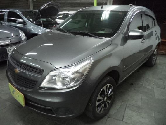 Chevrolet Agile 1.4 Flex Lt 5p Completo Rodas 2011 Cinza