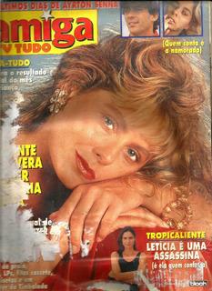 Revista Amiga 1279/1994 - Mara/angélica/michael Jackson
