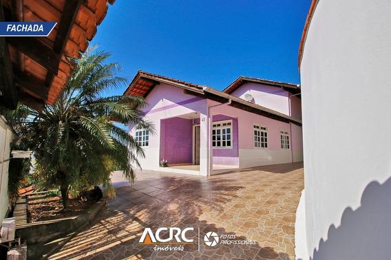 Acrc Imóveis - Casa Semi Mobiliada Com Vista Panorâmica Para Venda No Bairro Escola Agrícola - Ca01373 - 67815138
