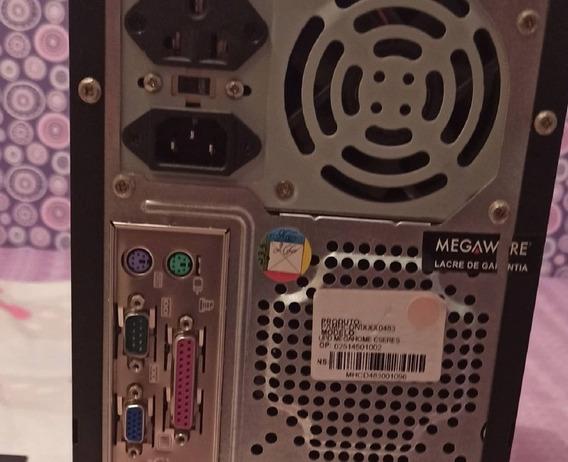 Computador Megaware Com Monitor Samsung