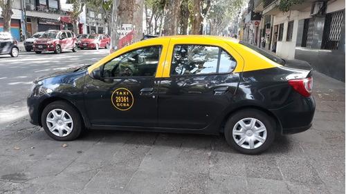 Taxi Ranault Logan 2017 Gnc Recien Colocado. Como Okm