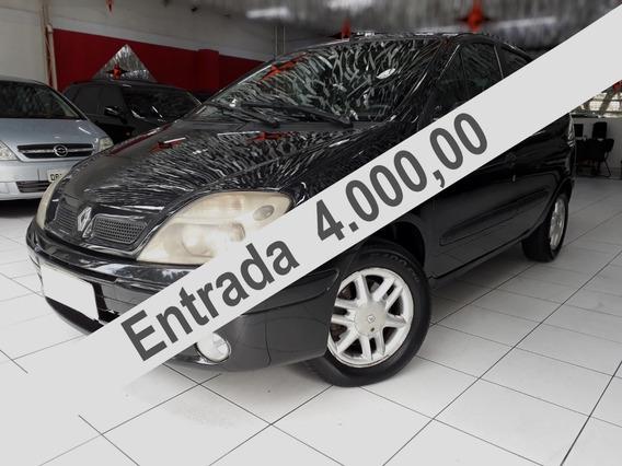 Renault Scenic Automático Rxe 2.0 / Temos Meriva Tambem