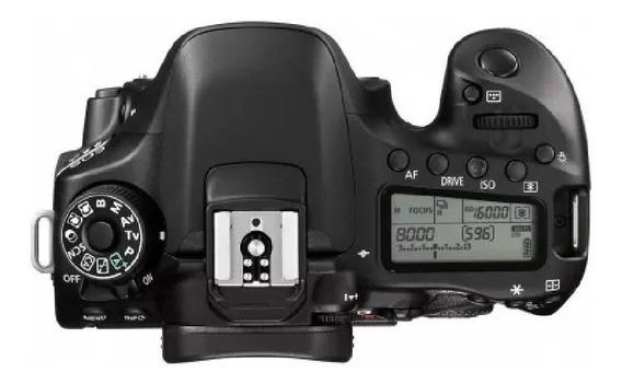 Câmera Canon Eos 80d Body (corpo) Original Garantido