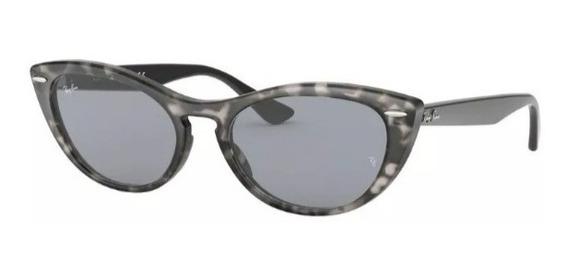 Óculos De Sol Gatinho Ray Ban Rb 4314 Nina Feminino Lançamen