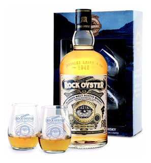 Whisky Douglas Laings Rock Oyster C/ Vasos Escoces