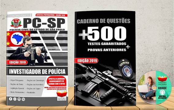 Apostila Polícia Civil Sp Investigador De Polícia 2019