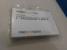 Manual Proprietario Novo Prisma Joy 2017 18 Chevrolet Novo