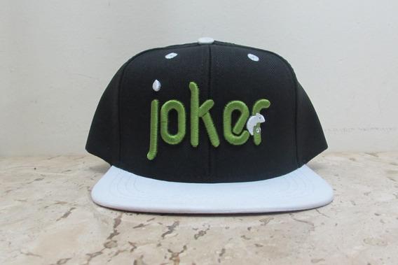 Boné Colors Joker - Preto Com Branco