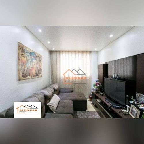 Apartamento À Venda, 56 M² Por R$ 275.000,00 - Vila Alpina - São Paulo/sp - Ap0462