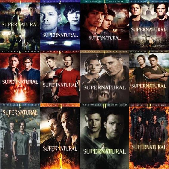 Ox Supernatural Todas Temporadas Da 1º Á 14º Dvd Prensados
