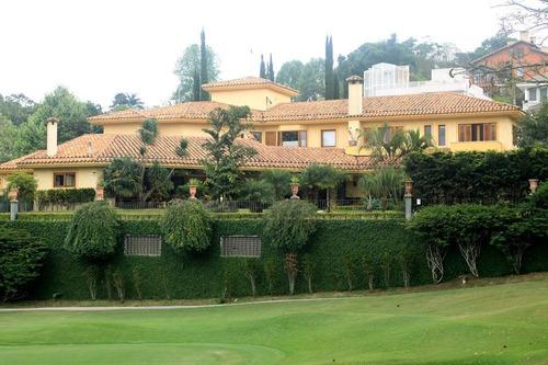 Granja Viana Espetacular De Frente Para O Campo De Golf. - Ca6134