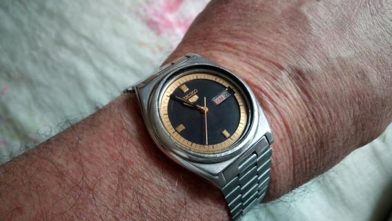 Relógio Seiko Automático Antigo 7009 Calendário ( Excelente)