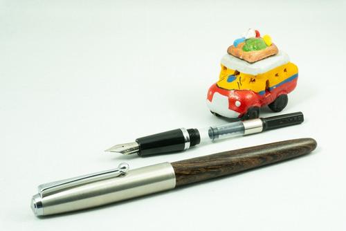 Estilógrafo Madera Recargable 51 - Unidad a $51500