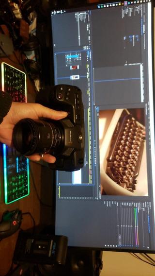 Câmera Blackmagic Pocket 4k Corpo
