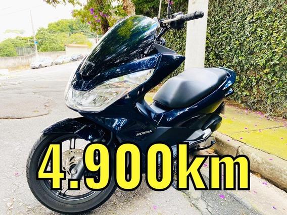 Honda Pcx 150 2018 Com 4 Mil Km