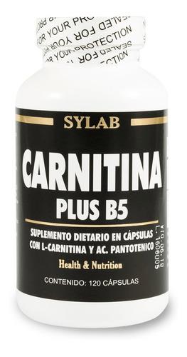 Carnitina Plus B5 Sylab 120 Cápsulas