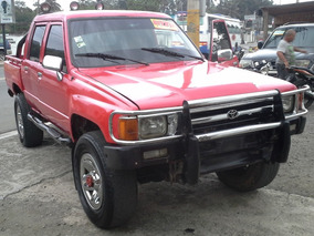Toyota Hilux 4x4 Diesel 1988 Doble Cabina