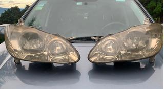 Faroles Y Tapa Halogenos Toyota Corolla Altis 2005