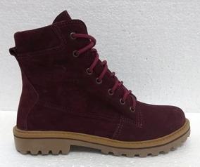 Bota Bella Boots 0700 (f) Bordo/nobuck