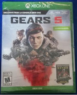 Gears Of War 5 + Dlc Skin Terminator (nuevo Y Sellado)