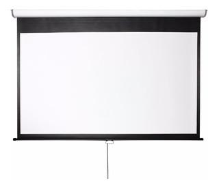 Pantalla Proyector 108 Pulgadas 16:9 Retractil Widescreen