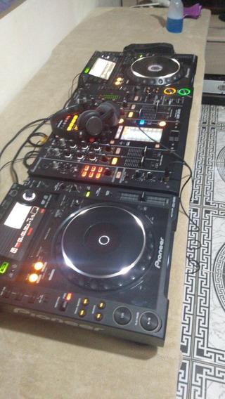 Cdj (par )2000 + Mixer 2000 ( Não E Nexus )