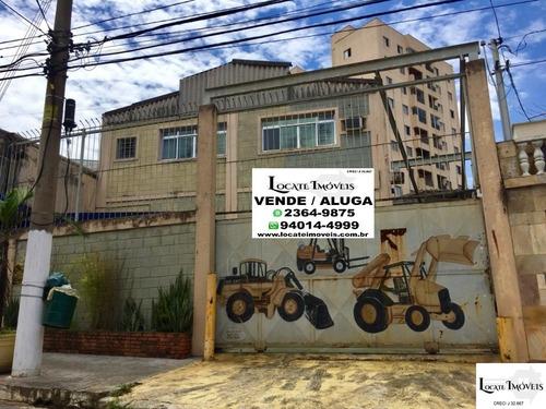 Imagem 1 de 10 de Galpão 600m² Com Doca, Ponte Rolante Para Venda Vila Formosa - Gl00012 - 69024989