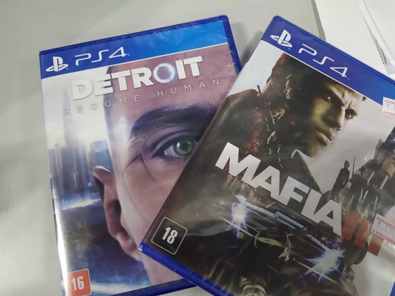 Detroit Become Human + Mafia 3 Ps4