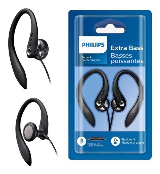 Fone Philips Shs3305 Com Microfone E Gancho Melhor Q Shs3300