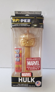 Funko Pop Hulk Exclusive Collector Corps Pez