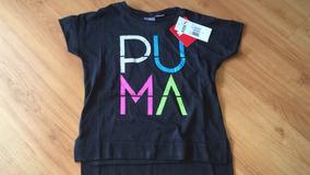 Camiseta Puma Tamanho 4 Anos