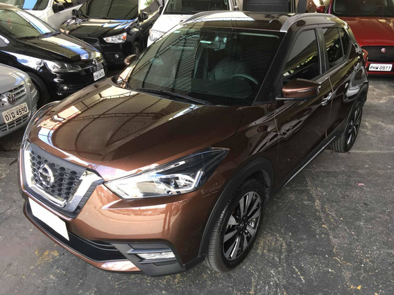 Nissan Kicks 1.6 16v Sl Aut. 5p 2020 Marron Na Garantia