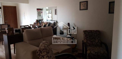 Apartamento Com 3 Dormitórios À Venda, 70 M² Por R$ 340.000,00 - Jardim São José - Ribeirão Preto/sp - Ap4441
