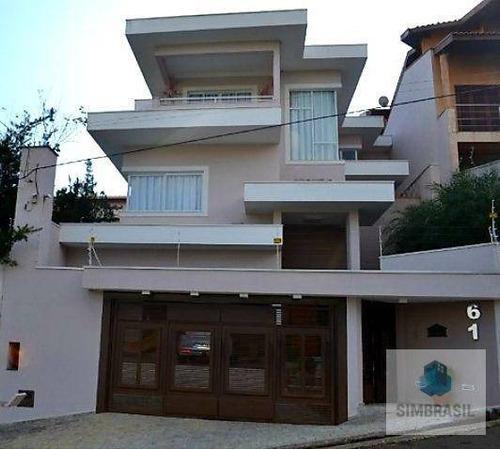 Imagem 1 de 18 de Casa Com 4 Dormitórios À Venda, Por R$ 1.220.000 - Vila Moleta - Valinhos/sp - Ca1566