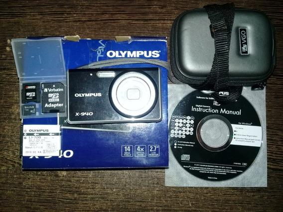 Cámara Digital Olympus X-940 14mpx