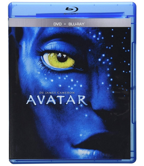 Avatar James Cameron Pelicula Bluray + Dvd