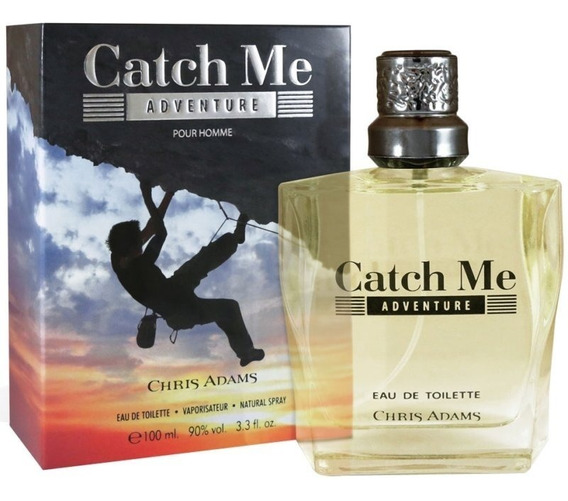 Perfume Chris Adams Catch Me Adventure Edt 100ml - Masculino