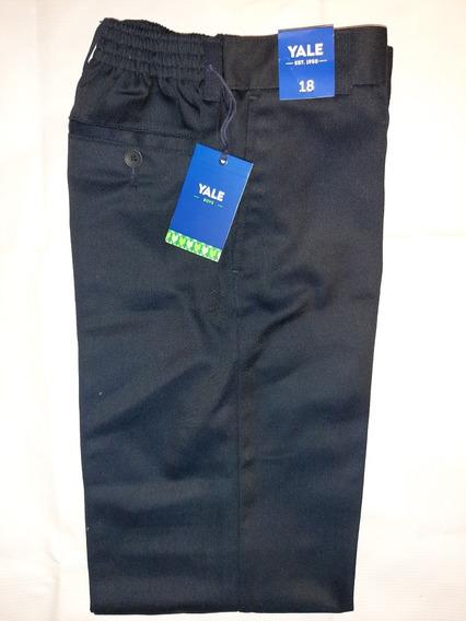Pantalon De Vestir Yale Niño Resorte En Cintura Poliester