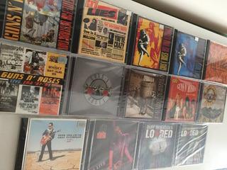 14 Cds + 3 Dvds Coleção Guns N